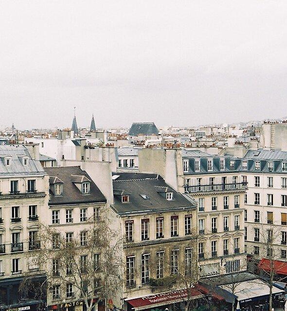 parisian rooftops by Tess Smith-Roberts