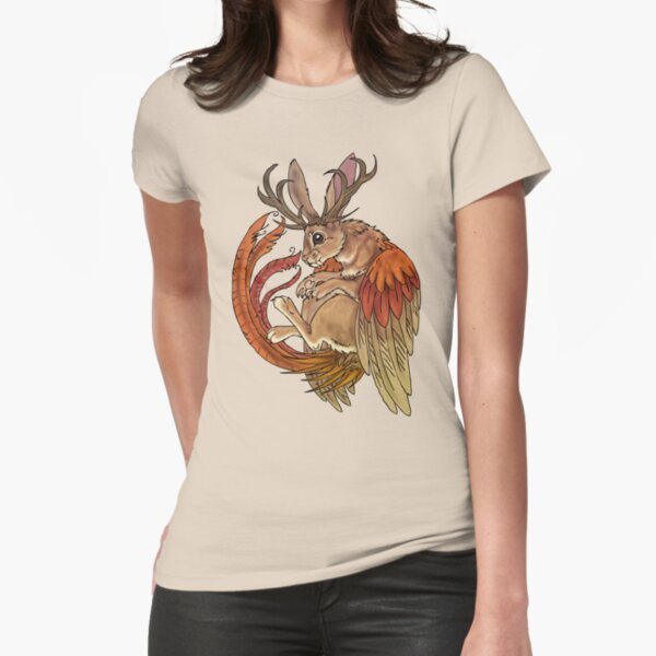 wolpertinger Fitted T-Shirt