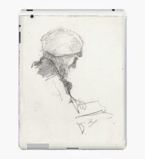 A Person Reading a Book iPad Case/Skin