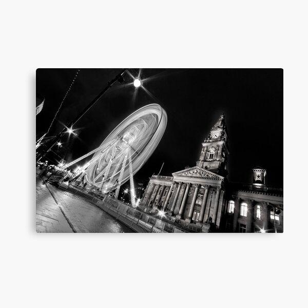 Bolton's big wheel (B&W) Canvas Print