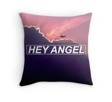 hey angel Throw Pillow