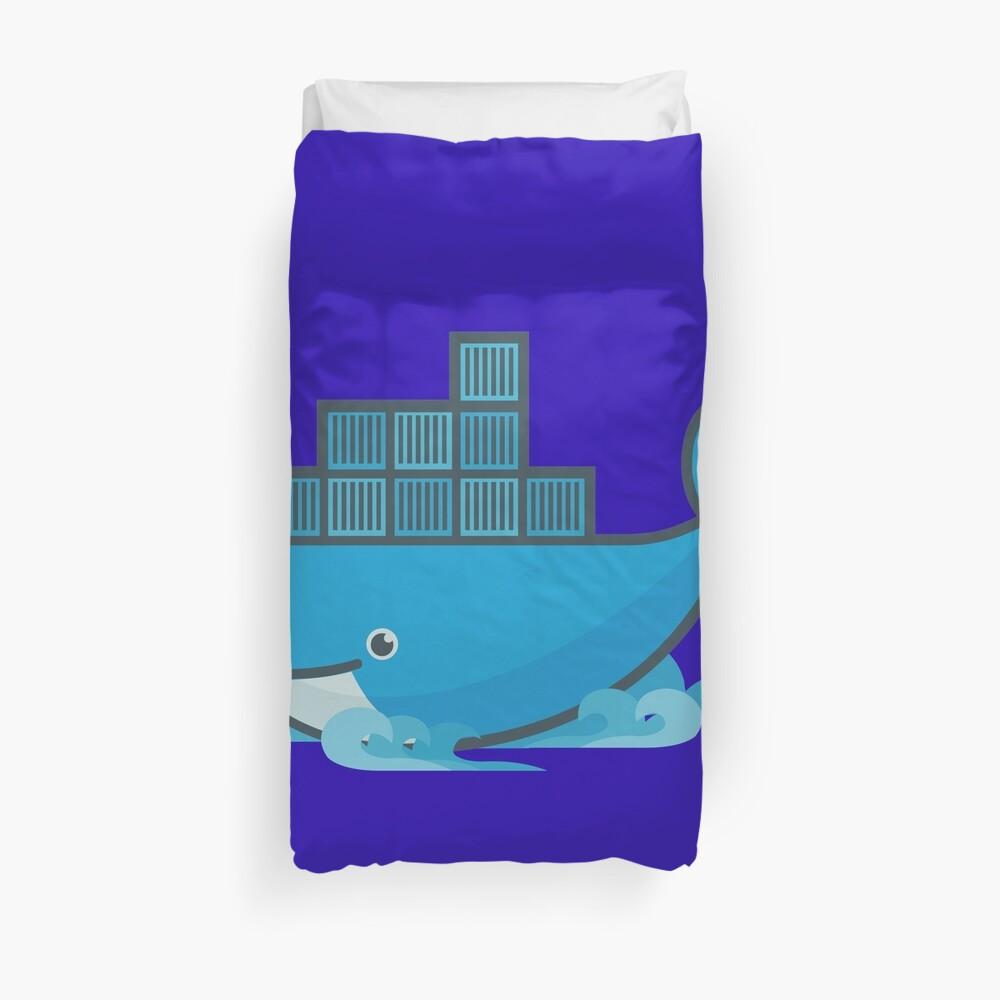 Docker Moby Whale Duvet Cover
