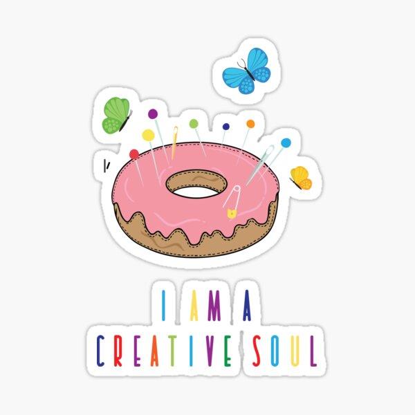 I am a creative soul  Sticker