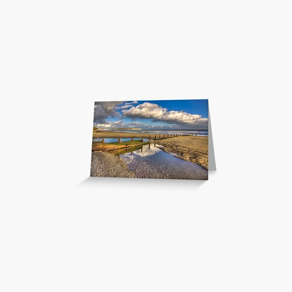 Welcome Beach  Shanklin Greeting Card