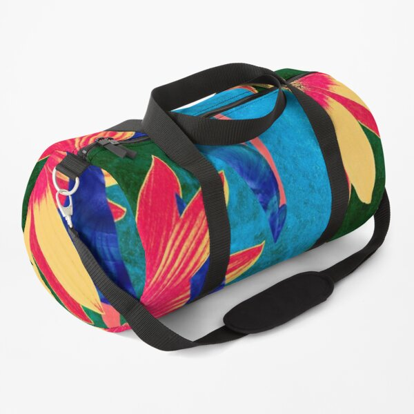 Flower Portrait 1 Duffle Bag