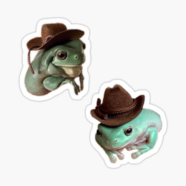 Cowboy Frog Pack (2 in 1) Sticker