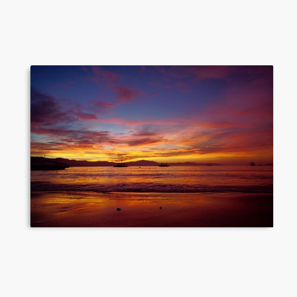 Rich sunset