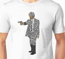 Jules from Pulp Fiction Typography Quote Design Unisex T-Shirt