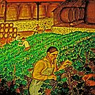 Quality Wine - Many Hands by Joseph  Coulombe