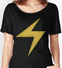 Ms.Marvel Symbol Women's Relaxed Fit T-Shirt