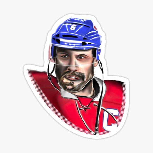 Hockey played red team  Sticker