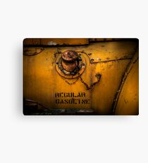 Regular Gasoline Canvas Print