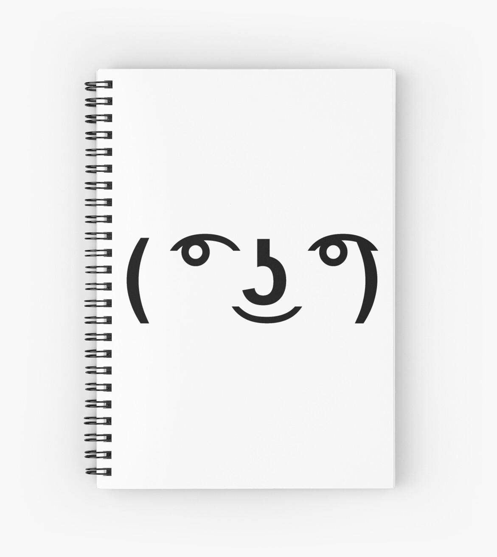 Lenny Face ( ͡° ͜ʖ ͡°) by GMFV