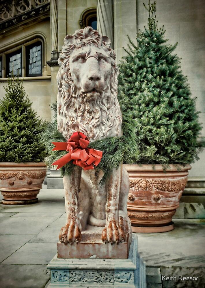 Biltmore Christmas Lion by Keith Reesor