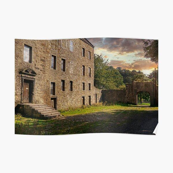 Midhope Castle - Lallybroch Outlander Scotland Poster