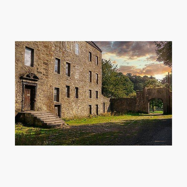 Midhope Castle - Lallybroch Outlander Scotland Photographic Print