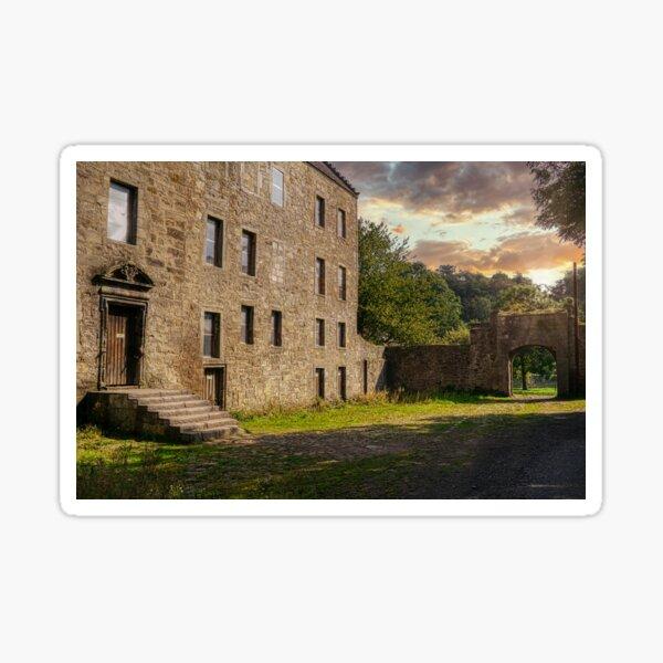 Midhope Castle - Lallybroch Outlander Scotland Sticker