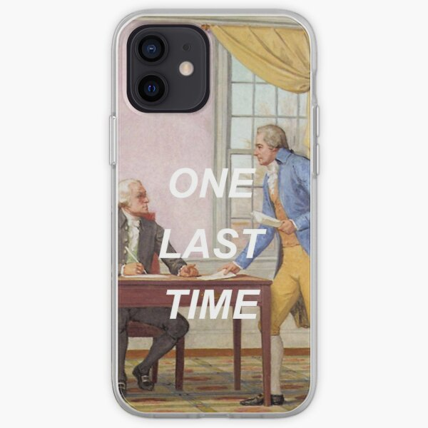 george washington's going home! iPhone Soft Case
