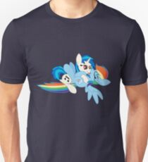 Vinyl Scratch x Rainbow Dash Unisex T-Shirt