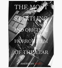 American Mary Evil Dead Style Poster 2 Poster