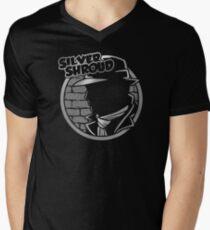 SILVER SHROUD Mens V-Neck T-Shirt