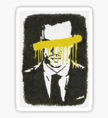 The Napoleon Of Crime Sticker