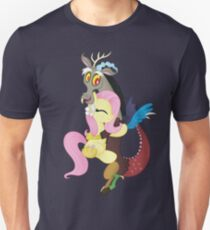 Fluttershy and Discord (My Little Pony: Friendship is Magic) T-Shirt