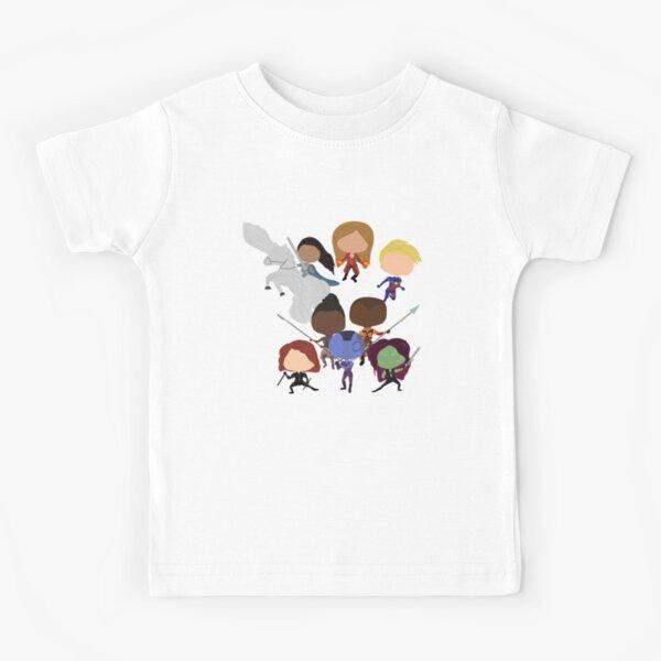 Female Heroes Kids T-Shirt