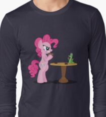 Pinkie Pie and Gummy Play Magic Shirt (My Little Pony: Friendship is Magic) Long Sleeve T-Shirt