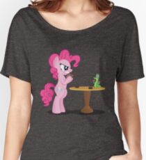 Pinkie Pie and Gummy Play Magic Shirt (My Little Pony: Friendship is Magic) Women's Relaxed Fit T-Shirt