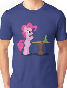 Pinkie Pie and Gummy Play Magic Shirt (My Little Pony: Friendship is Magic) Unisex T-Shirt