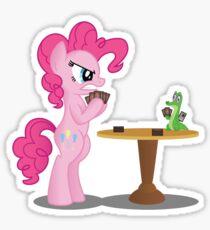 Pinkie Pie and Gummy Play Magic Shirt (My Little Pony: Friendship is Magic) Sticker