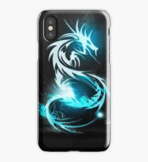 Electric dragon iPhone Case