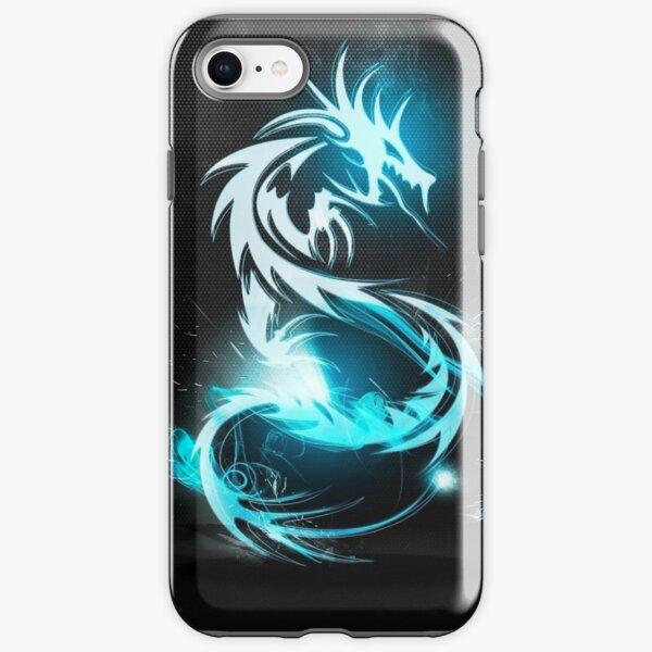 Electric dragon iPhone Tough Case