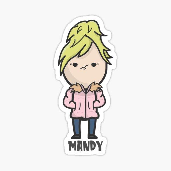 Mandy (Diane Morgan) Sticker