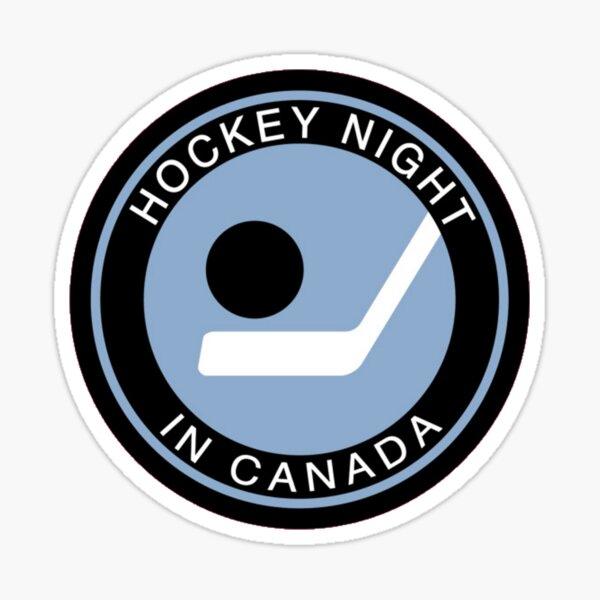 Hockey Night in Canada bootleg Sticker