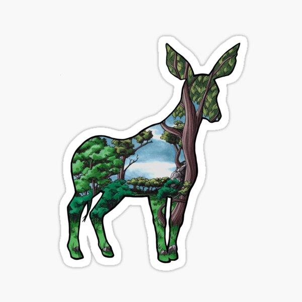 #saveourplanet for biodiversity - Okapi Sticker