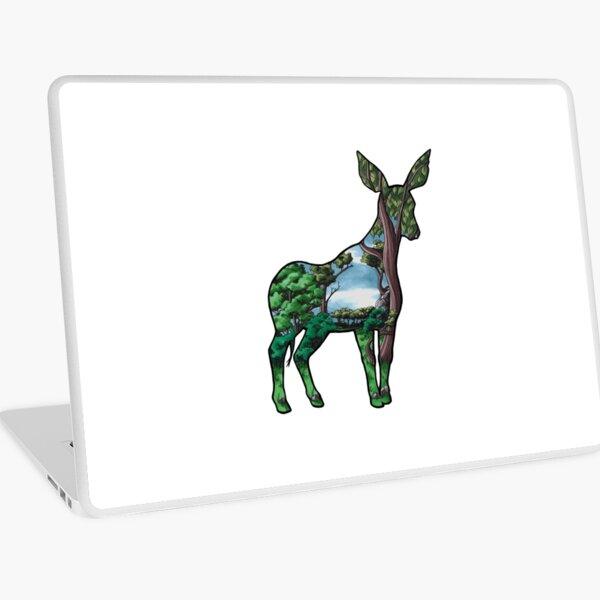 #saveourplanet for biodiversity - Okapi Laptop Skin