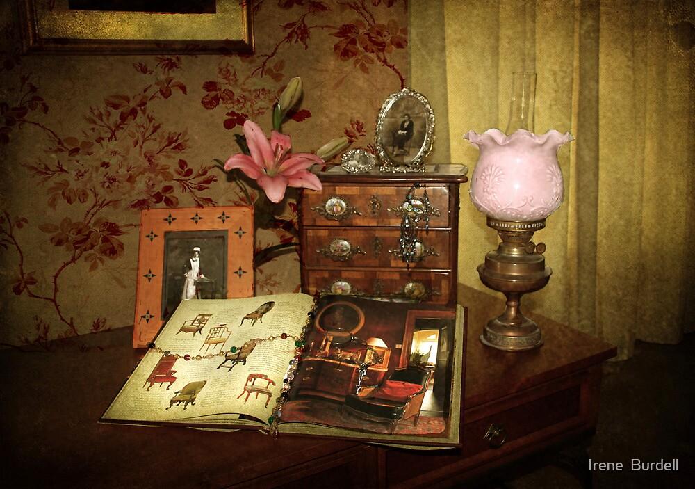 Victoriana Still life  by Irene  Burdell