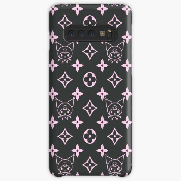 Pink and black inverse emo black bunny alt goth MY MUSIC BUNNY KAWAII PINK JAPANESE LOLITA print Samsung Galaxy Snap Case