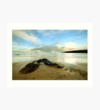 Harlyn Bay - Cornwall Art Print