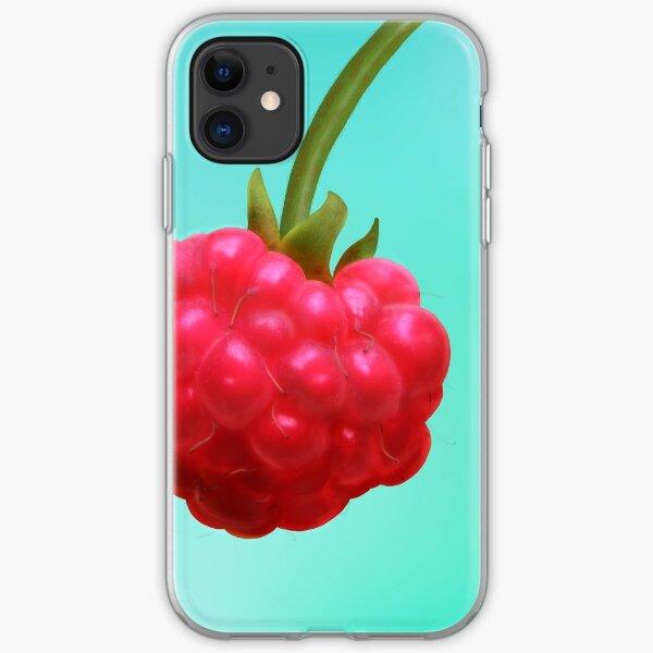 Raspberry iPhone Soft Case