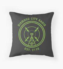 DIAMOND CITY RADIO Throw Pillow