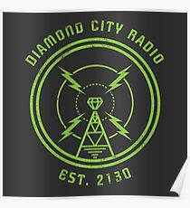 DIAMOND CITY RADIO Poster