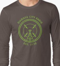 DIAMOND CITY RADIO Long Sleeve T-Shirt