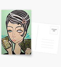 The Omen Postcards