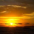 Lights Beach Sunset 10/01/2014 by pennyswork