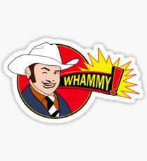 Anchorman 2 - Champ Kind - WHAMMY! Sticker