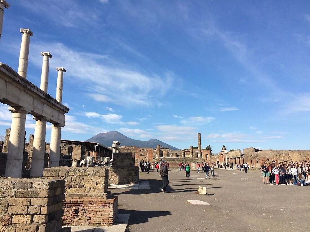 Pompeii by morganajones