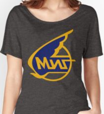 Mikoyan-Gurevich (Russian Aircraft Corporation MiG) Logo Women's Relaxed Fit T-Shirt